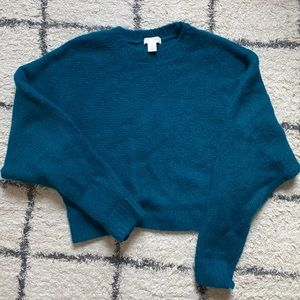 Blue Fuzzy Sweater